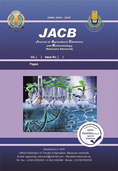 Journal of Agricultural Chemistry and Biotechnology